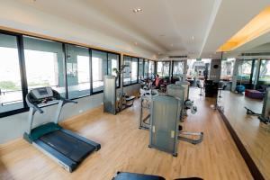 Palestra o centro fitness di Nouvo City Hotel