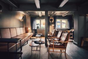 En sittgrupp på Stallmästaregården Hotel & Restaurant