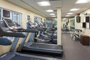 The fitness center and/or fitness facilities at Key Largo Bay Marriott Beach Resort
