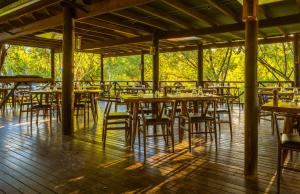 A restaurant or other place to eat at The Station at El Questro