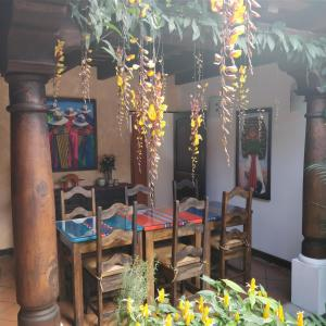 A restaurant or other place to eat at Casa Elena