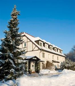 Seehotel Mühlenhaus during the winter