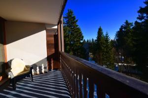 A balcony or terrace at Kappeberg Lodge
