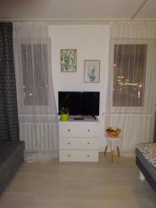 Telewizja i/lub zestaw kina domowego w obiekcie Apartament Nikola
