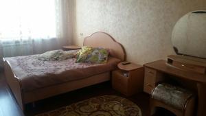 Кровать или кровати в номере Budnika