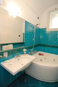 Um banheiro em Hotel Residence