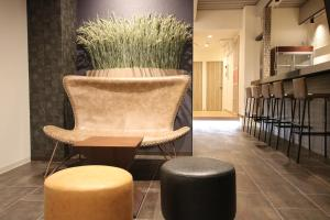 A seating area at Guest House Rice Chikko