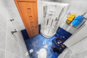 Ванная комната в Apartment U Visotskogo
