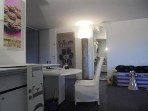 Een badkamer bij Pallazzo Alfonso