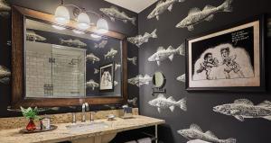 A bathroom at Graduate Minneapolis