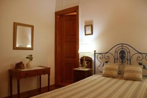 A bed or beds in a room at A Tejada