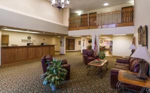 The lobby or reception area at Supertel Inn & Conference Center
