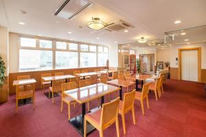 A restaurant or other place to eat at Hotel All In Stay Hakodate