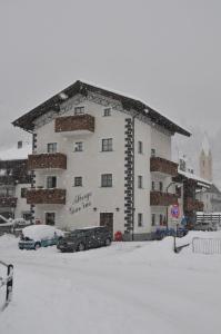 Hotel Giardino durante l'inverno
