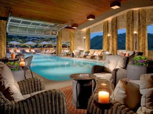 The swimming pool at or near The Lodge at Jackson Hole