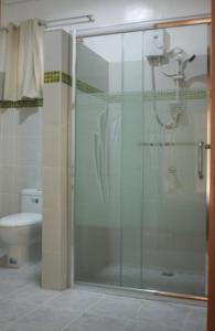 A bathroom at La Natura Resort