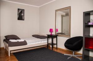 Część wypoczynkowa w obiekcie Apartament Przy Ratuszu | The Very Center