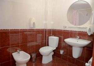 Ванная комната в Hotel Kapri
