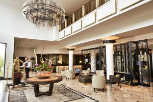 The lobby or reception area at Steigenberger Hotel Bad Homburg