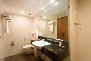 A bathroom at Renuka City Hotel