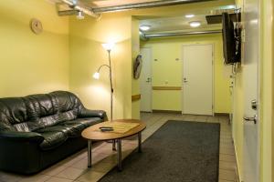 Istumisnurk majutusasutuses Guesthouse Rehab