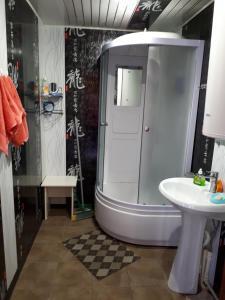 Ванная комната в Гостевой дом Космос