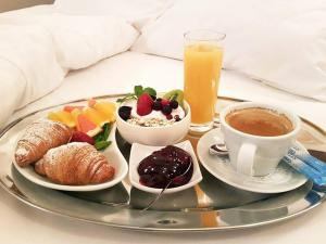 Breakfast options available to guests at Dinaburg SPA Hotel