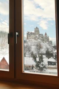 Conacul Törzburg iarna
