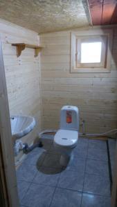 Ванная комната в Holiday home Berezovyi Hutor