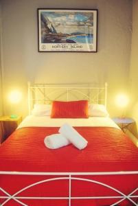 Un ou plusieurs lits dans un hébergement de l'établissement Vagabonds