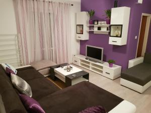 Гостиная зона в Apartment Pahljina