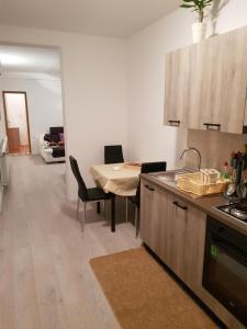 Кухня или мини-кухня в Apartment Pahljina