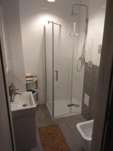 Łazienka w obiekcie Apartament Nikola
