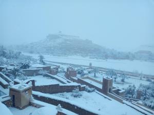 Dar Mouna La Source in de winter