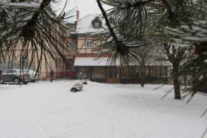 Penzion Diana v zimě