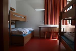 A bunk bed or bunk beds in a room at Jugendherberge Tübingen