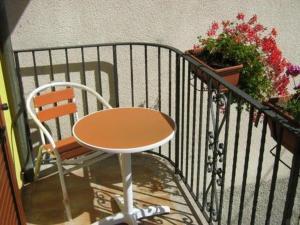 A balcony or terrace at Al Campanile