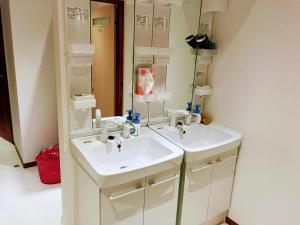 Guesthouse LuLuLu 無料朝食 全室個室にあるバスルーム