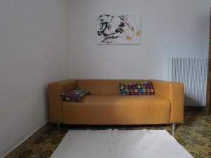 A seating area at Casa Martello
