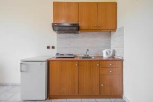 Kjøkken eller kjøkkenkrok på Alea Hotel Apartments