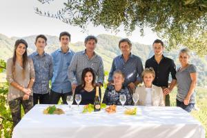 Famiglia che soggiorna presso Azienda Agricola Campion