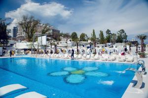 The swimming pool at or near Arcadia Palace