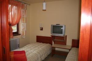 Posteľ alebo postele v izbe v ubytovaní Villa Patio