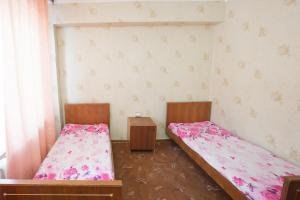 Кровать или кровати в номере Apartment TwoPillows on Lenina 52-5