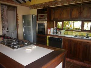 Una cocina o zona de cocina en Casas La Primavera