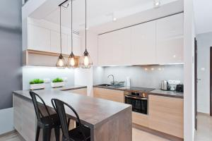 Kuchnia lub aneks kuchenny w obiekcie Apartamenty Sun & Snow Olimp Apartments