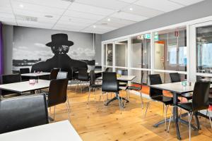 Un restaurant sau alt loc unde se poate mânca la Connect Hotel Stockholm
