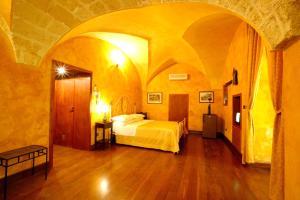 เตียงในห้องที่ Nel Centro Storico