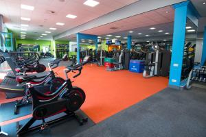 The fitness center and/or fitness facilities at Vale Resort
