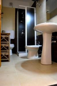 A bathroom at Mille Soli Bed and Breakfast